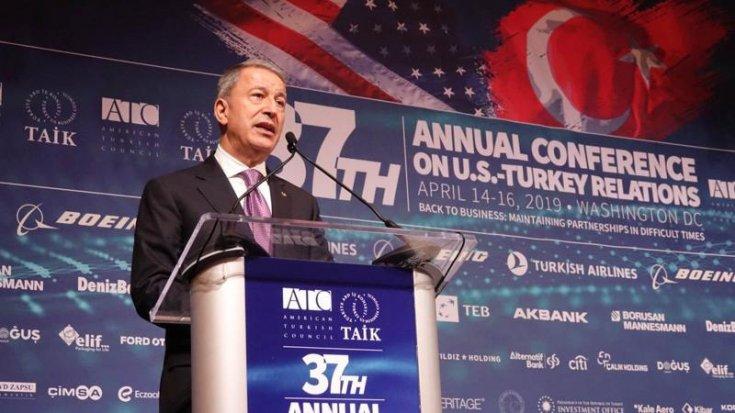 Hulusi Akar: S-400 alımı Türkiye'nin ulusal kararıdır