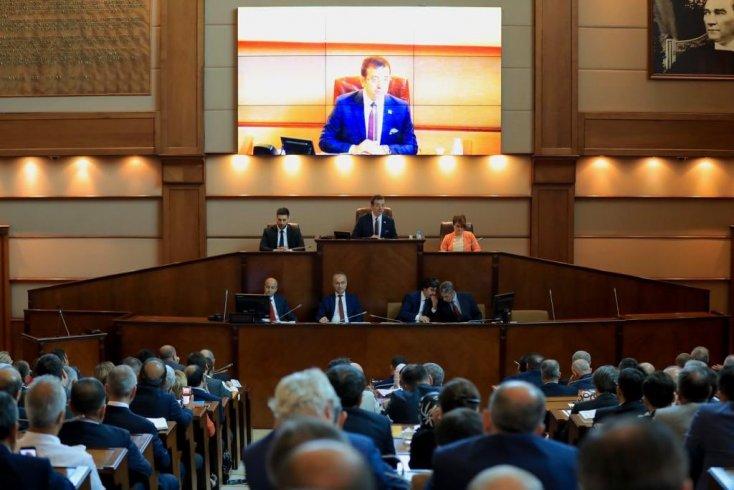 İBB Meclisi bütçeyi görüştü; İBB bütçesi 261 kabul oyuyla İBB Meclisi'nde kabul edildi