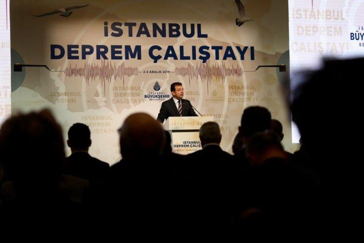 İBB'nin 'İstanbul Deprem Çalıştayı' başladı