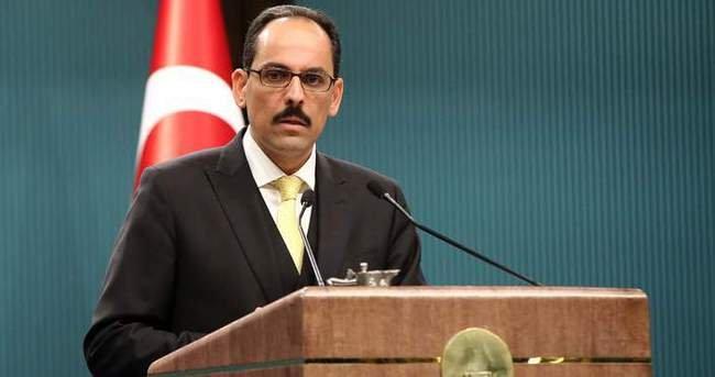 İbrahim Kalın'dan Arınç'a Ahmet Türk yanıtı: Şahsi fikirleridir, Cumhurbaşkanlığını bağlamaz