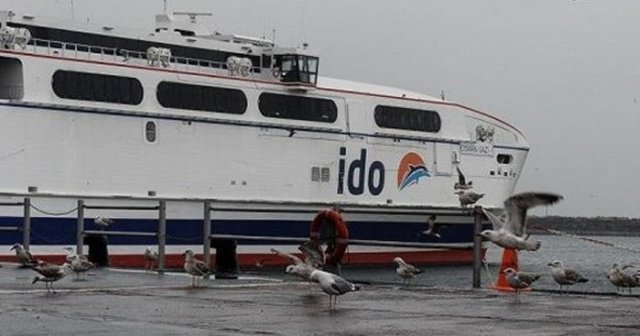 İDO ve BUDO'da bazı seferler iptal edildi