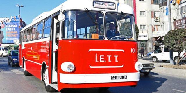 """İlk yerli troleybüs """"Tosun"""" yeniden İstanbul yollarında"""