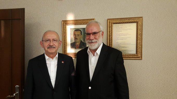 İmambakır Üküş'ten CHP lideri Kılıçdaroğlu'na ziyaret