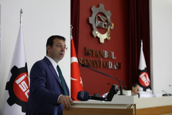 İBB başkanı İmamoğlu İstanbul Sanayi Odası aylık toplantısında: Depremi her hafta hatırlatacağız