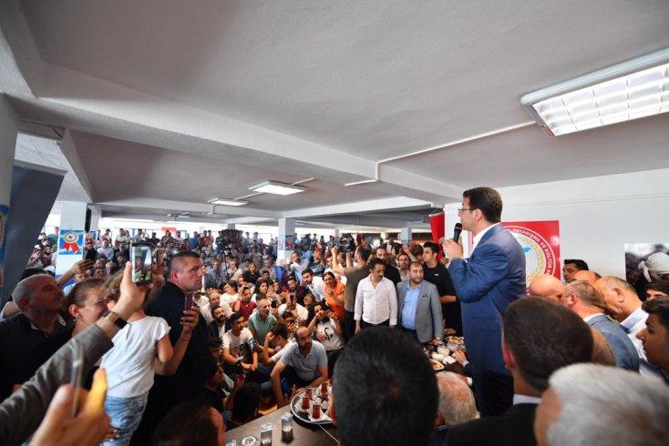 İmamoğlu: Seçim yapa yapa bizi İstanbul'a belediye başkanı yaptılar