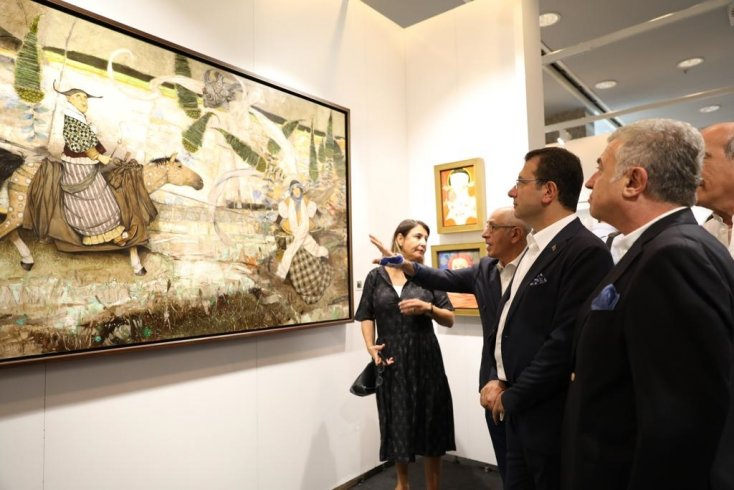 İmamoğlu: Yerel yönetimler olarak kültür ve sanatı desteklemekle yükümlüyüz