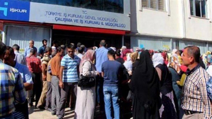 İŞKUR: Son bir yılda 1.3 milyon kişi daha işsiz kaldı