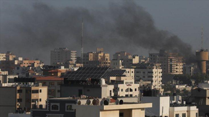 İsrail'in Filistin'e düzenlediği hava saldırılarında 7 kişi öldü