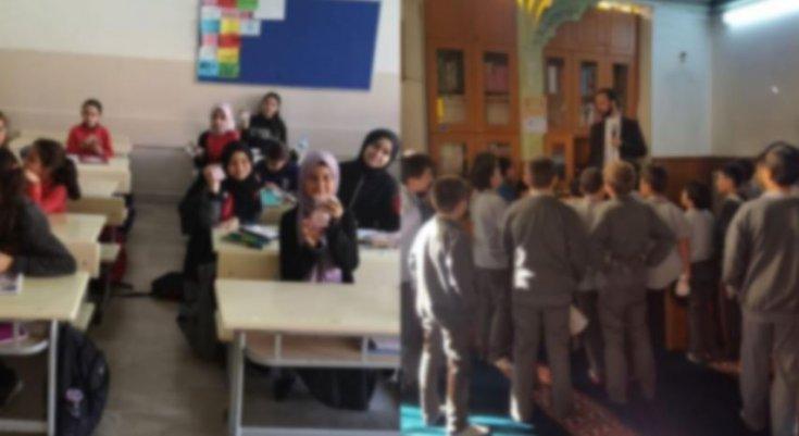 İstanbul'da harem-selamlık, takkeli eğitim: 'Sevap Puan Kartı' dağıtıyorlar!