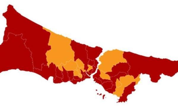 İstanbul'da seçime katılım 12 ilçede azaldı: Ekrem İmamoğlu 12 ilçede oyunu artırdı, Binali Yıldırım'ın oylarını artırdığı tek ilçe Sultanbeyli oldu