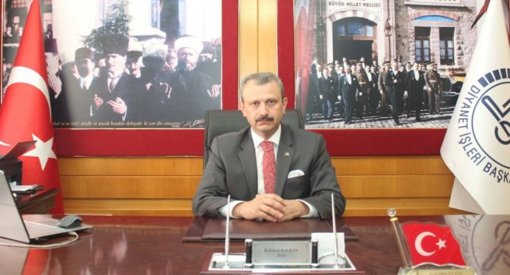 İzmir İl Müftüsü Balkan: Hiç kimse Atatürk'ü 'dinsiz' diye itham edemez
