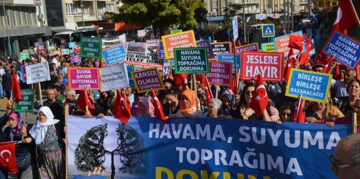 İzmir Valiliği, Zeytin Kanunu'nu yok sayarak AKP'li şirkete yeniden sondaj izni verdi