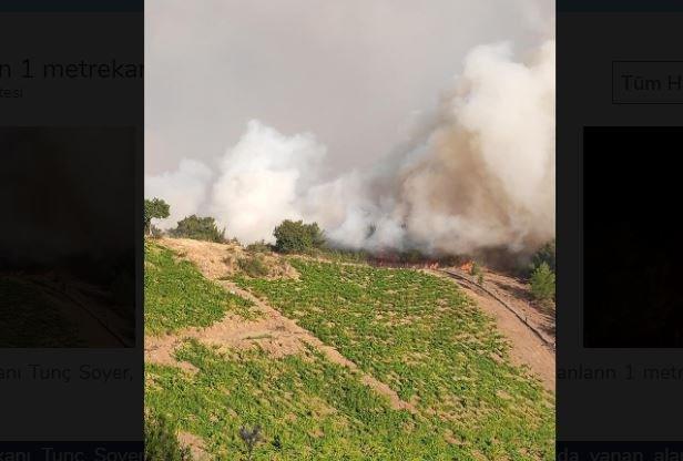 İzmir'de yangın... Tunç Soyer: Yanan yerlerin 1 metrekaresini bile imara açmayacağız