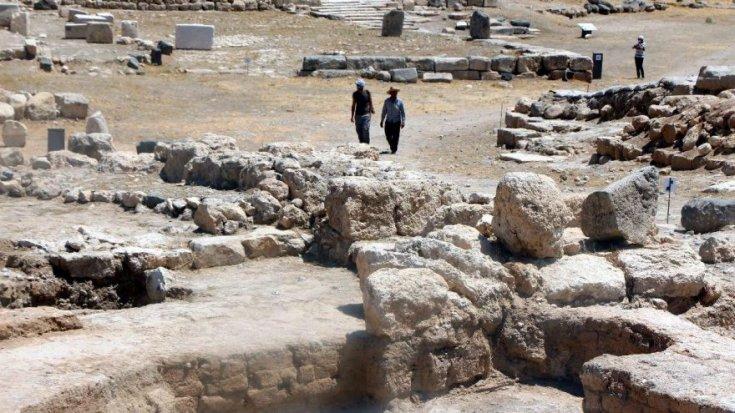 Karkamış Antik Kenti 'arkeopark' olarak açıldı