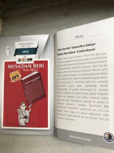 """Kartal Belediyesi'nden """"Musa'dan beri Gazetecilik ve Edebiyat"""" konulu söyleşi"""