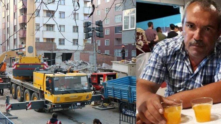 Kartal'da çöken binanın enkazından kurtarılan gencin yakını kriz merkezinde kalp krizi geçirdi