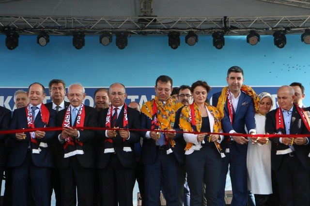 Kastamonu Tanıtım Günleri'nin açılışı Kılıçdaroğlu, İmamoğlu ve Yüksel'in katılımıyla yapıldı