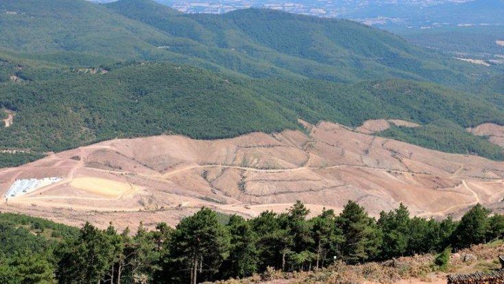 'Kaz Dağları'nda 11 bin ton siyanür toprağa değecek'