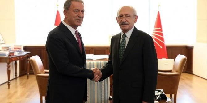 Kılıçdaroğlu, Bakan Akar ile görüşecek