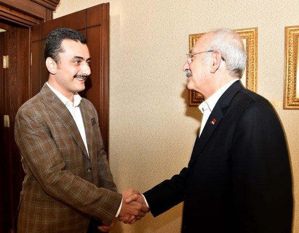 Kılıçdaroğlu, Eren Erdem ile görüştü