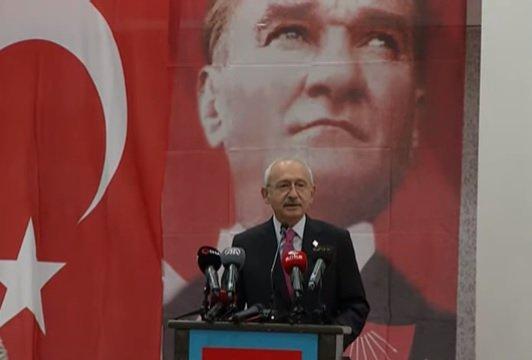"""Kılıçdaroğlu, Gaziantep'te parti okulunda """"Atatürk'ü Anlamak"""" başlıklı bir konuşma yaptı"""