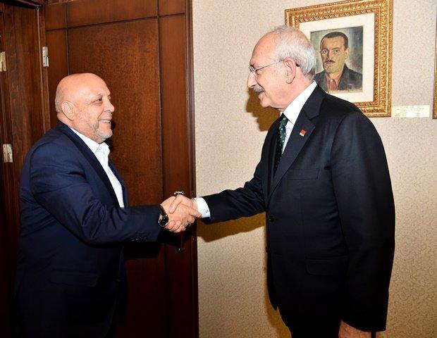 Kılıçdaroğlu, Hak-İş heyetini kabul etti