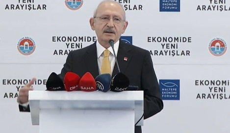 Kılıçdaroğlu: Devlet başkanının yolsuzluktan pay alması makul karşılanmaya başlandı