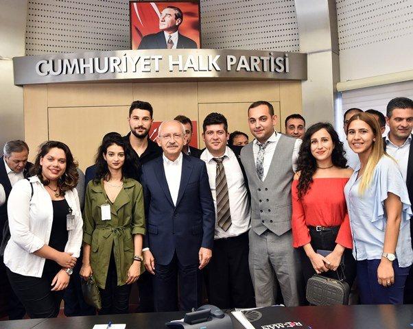 Kılıçdaroğlu, Roman Dernekleri Federasyonu yöneticilerini kabul etti