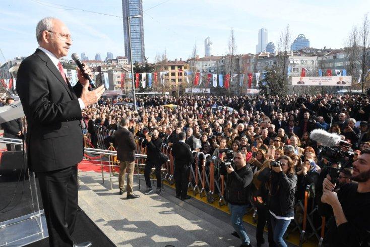 Kılıçdaroğlu 'Şişli Belediyesi Halkla İlişkiler Sistemi Komşu Masa' açılışında