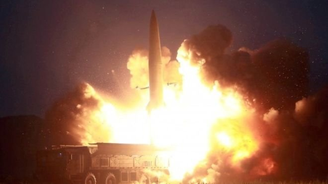 Kuzey Kore 'kısa menzilli balistik füze' denemesi yaptı