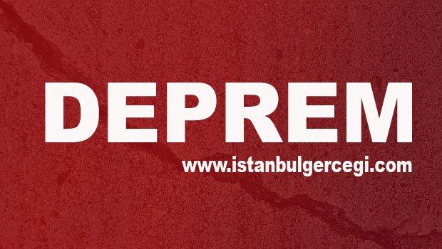 Marmara Denizi'nde 4,1 şiddetinde deprem İstanbul'dan hissedildi
