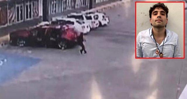 Meksikalı uyuşturucu baronu El Chapo'nun oğlunu tutuklayan polise sokak ortasında 150 kurşunla infaz