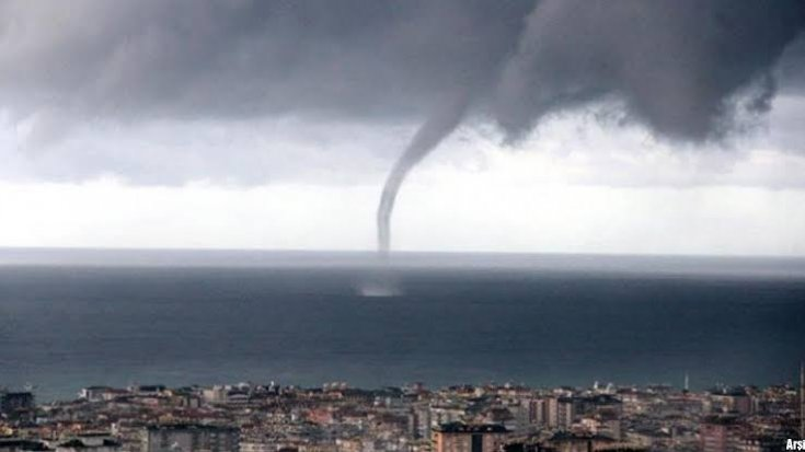 Meteoroloji'den Antalya için hortum uyarısı