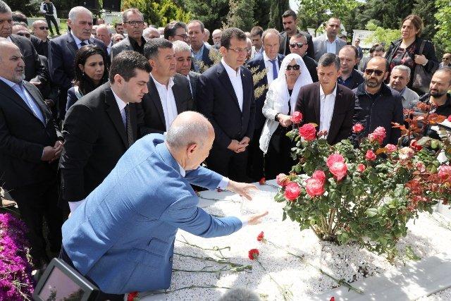Mevlüt Aslanoğlu ölümünün 5. yılında mezarı başında anıldı