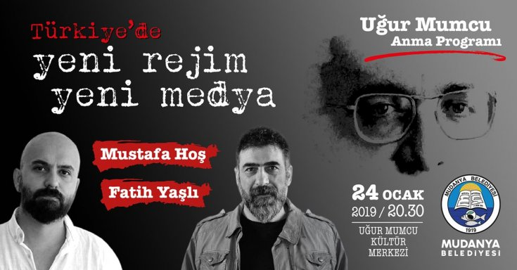 Mudanya Belediyesi'nden ''Türkiye'de Yeni Rejim Yeni Medya'' söyleşisi