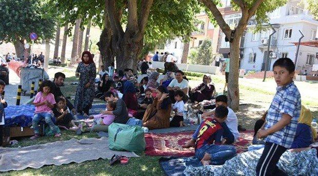 Mülteciler yaşam mücadelesi veriyor