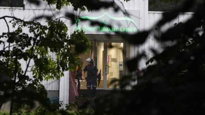 Norveç'teki cami saldırısına 'terör soruşturması'