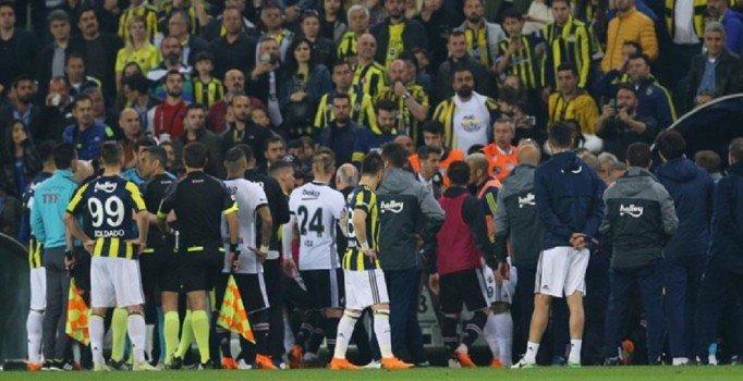 Olaylı Fenerbahçe-Beşiktaş derbisine ilişkin soruşturma tamamlandı