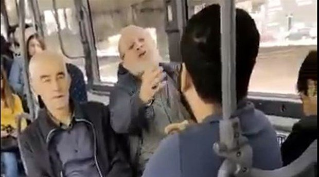 Otobüste genç kadına taciz: 'Karşımda oturma kalk, gözüm sana kayıyor'