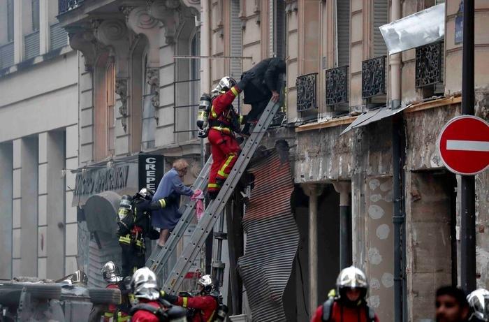 Paris'te büyük patlama: 36 yaralı, 4 ölü
