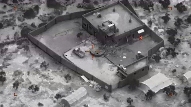 Pentagon, IŞİD lideri Bağdadi'ye yönelik operasyonun görüntülerini yayımladı