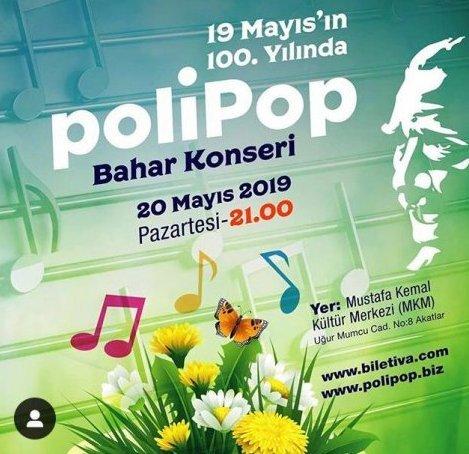 PoliPop, baharın gelişini ve 19 Mayıs'ın 100. yılını kutluyor