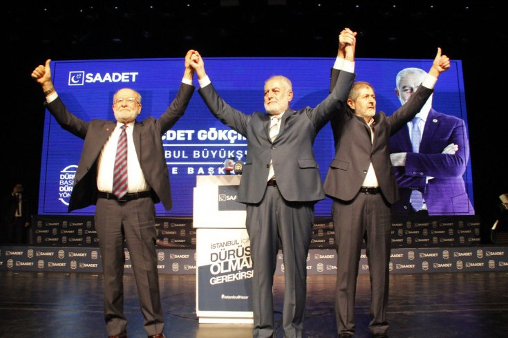 Saadet Partisi, İstanbul belediye başkan adayları için tanıtım programı düzenledi