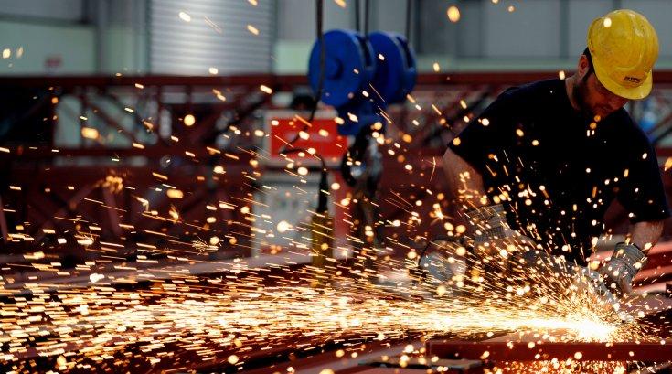 Sanayi üretimi yüzde 7.3 azaldı