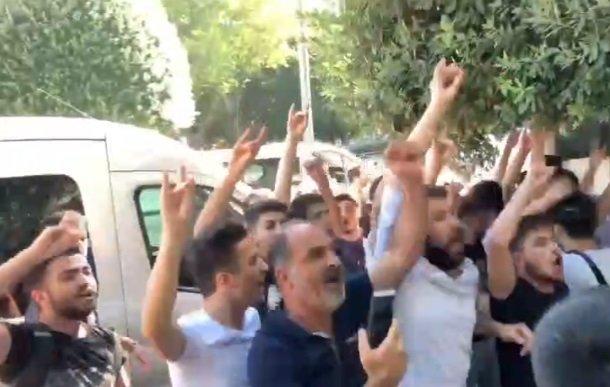 Saraçhane'deki Suriyelilerin eylemine saldırı girişimi