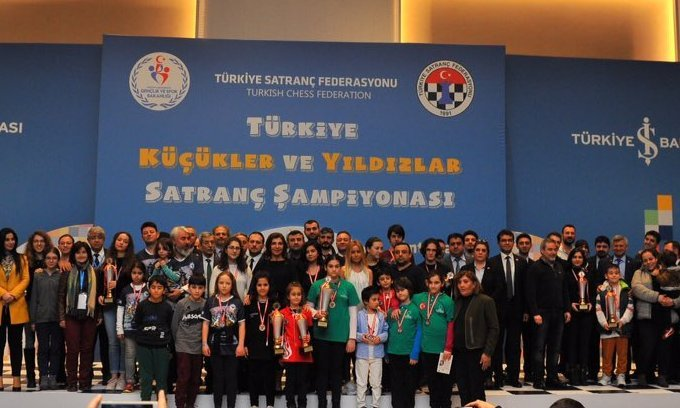 Satrançta Türkiye şampiyonları belli oldu