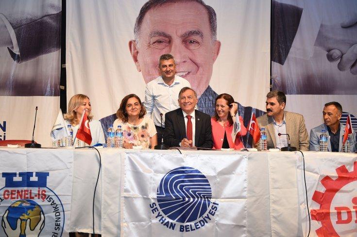 Seyhan Belediyesi ile Genel-İş Sendikası arasında ilk şirket toplu iş sözleşmesi imzalandı