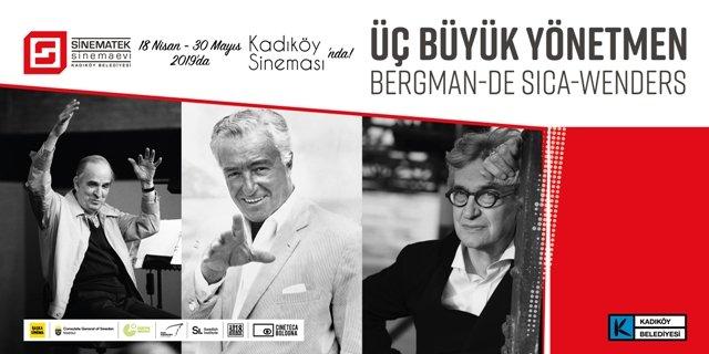 Sinematek, Bergman, De Sica ve Wenders'in filmlerini Kadıköylülerle buluşturuyor