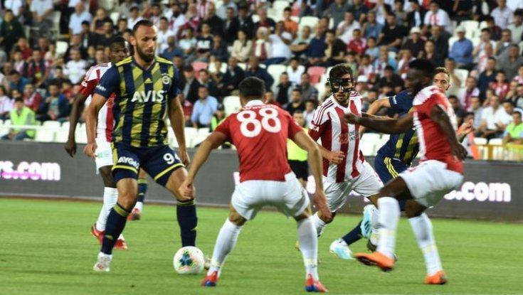 Sivasspor 2 - 1 Fenerbahçe