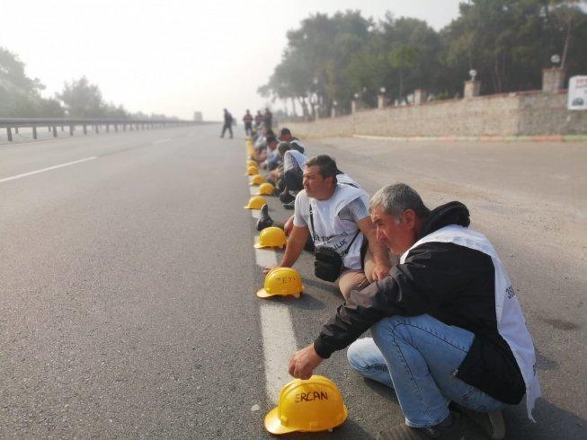 Somalı madencilerin eylemi 18. gününde